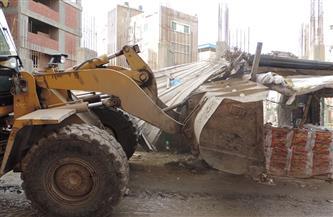 """نائب محافظ القاهرة يشرف على حملة لإزالة إشغالات تعترض توسعة """"الدائري"""" في حي السلام"""