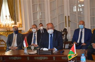 اجتماع ثلاثى لوزراء خارجية مصر وفلسطين والأردن بالقاهرة غدًا