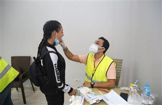 إجراء الكشف الطبي على المشاركين في نهائيات الأولمبياد الرياضي الثاني للمحافظات الحدودية بشرم الشيخ