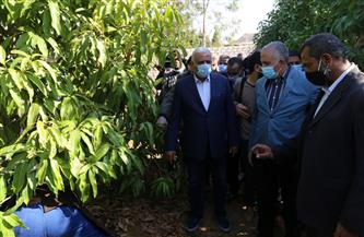 وزير الرى يبحث طلب محافظ السويس لتوفير مياه لاستصلاح 30 ألف فدان توفر 90 ألف فرصة عمل للشباب | صور