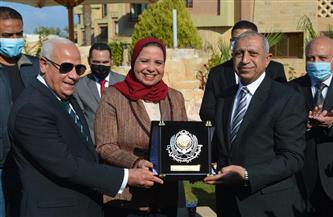احتفالية بالأكاديمية البحرية بمناسبة حصول عادل الغضبان علي جائزة أفضل محافظ عربي | صور