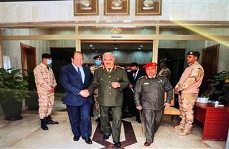 دعم سياسي وعسكري.. تفاصيل زيارة رئيس المخابرات إلى ليبيا ولقائه حفتر وصالح| صور