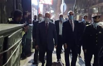 محافظ القاهرة يتفقد محال وسط المدينة ومدينة نصر للتأكد من التزامها بمواعيد الغلق الجديدة | صور