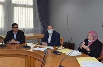 جامعة حلوان تستقبل ممثلى وزارة التضامن الاجتماعى لاستكمال تطوير المناطق الأكثر احتياجا| صور