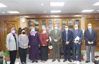 رئيس جامعة الأزهر خلال استقبال فريق ضمان الجودة: نسعى بقوة للتحول الرقمي