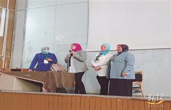 ندوة توعوية عن التحرش والعنف الأسرى بجامعة سوهاج | صور