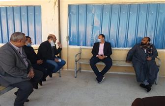 وكيل الصحة يتفقد وحدة الغسيل الكلوي بقرية الشيخ مرزوق بالبلينا بعد التشغيل | صور