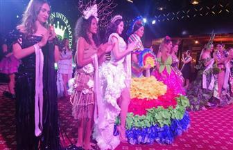 فلبينية تفوز بلقب «مس إيكو دريس» في مسابقة ملكات جمال السياحة والبيئة بالغردقة | فيديو وصور