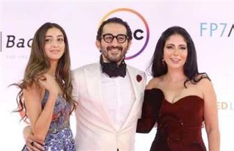 الظهور الأول لـ «لي لي» ابنة مني زكي وأحمد حلمي في مهرجان القاهرة السينمائي