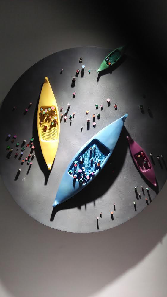معرض الفنان محمد بنوى