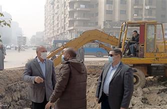 نائب محافظ القاهرة يتابع أعمال تطوير الصرف الصحي في المطرية  صور