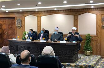 أمين البحوث الإسلامية: الأزهر يهدف إنتاج خطاب ديني مستنير مع جميع قطاعات الدولة |صور