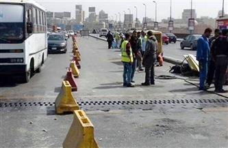تحويلات مرورية لتنفيذ إزالة عقار غرب الطريق الدائرى بمنطقة كفر طهرمس بالجيزة
