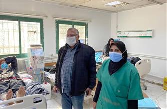نقل وحدة الغسيل الكلوي إلى استقبال الباطنة بمستشفى كفرالزيات العام| صور