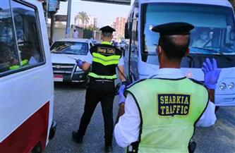 تحرير مخالفات لـ8938 سائق نقل جماعى لعدم ارتداء الكمامة