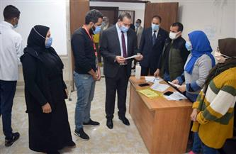 رئيس جامعة سوهاج يتفقد انتخابات الجولة الأولى لاتحاد الطلاب |صور