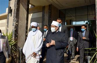 وزير الأوقاف يستقبل نظيره السوداني | صور