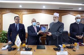 الأزهر يوقع اتفاقية تعاون مع وكالة الفضاء تحقيقا لرؤية مصر 2030 | صور