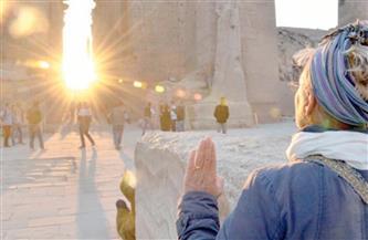غدا.. تعامد الشمس على قدس الأقداس بمعبد الكرنك
