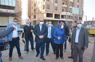 محافظ القاهرة يتفقد خط سير نقل المومياوات الملكية | صور