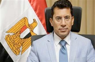 """وزير الرياضة يشيد بالإنجاز التاريخي لـ """"بيج رامي"""""""