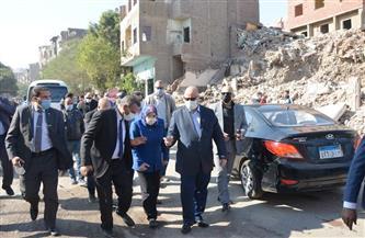 محافظ القاهرة يتفقد إزالات منطقة الطيبي في السيدة زينب  صور