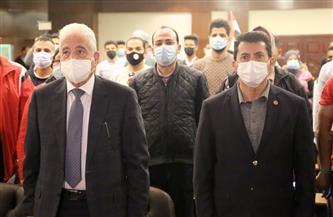 وزير الشباب يشهد الندوة التثقيفية الأولى لمبادرة «مصر بلا غرقى»   صور
