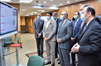 وفد منظومة الشكاوى الحكومية الموحدة بمجلس الوزراء يتفقد مطار القاهرة |صور