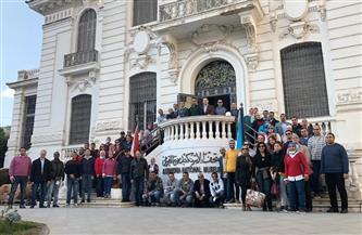 كوم الشقافة ومتحف الإسكندرية يستقبلان وفد متدربي البرنامج الرئاسي | صور