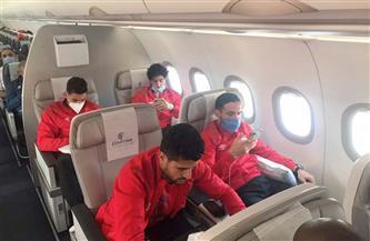 مصر للطيران تسير رحلة خاصة لنقل بعثة الأهلي إلى النيجر | صور