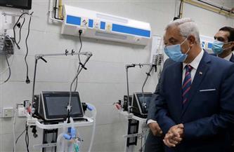 رئيس جامعة المنوفية يفتتح وحدة الرعاية المركزة والحالات الحرجة بمستشفى الطوارئ | صور