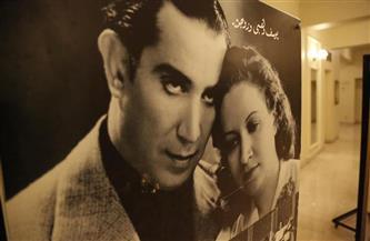 عظماء المسرح المصري والعربي بمدخل المسرح الكبير قبل افتتاح دورة «الآباء» | صور