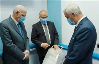 رئيس جامعة المنوفية يفتتح وحدة العلاج الإشعاعي الموضعي عالي الدقة بمستشفى الجامعة| صور