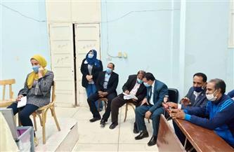 إعادة الانتخابات الطلابية للفرقتين الثانية والثالثة بجامعة الوادي الجديد لعدم اكتمال نسب التصويت   صور