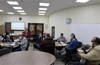 رئيس مياه أسيوط يشارك في وضع الاستراتيجية لتجديد الرؤية والرسالة والقيم| صور