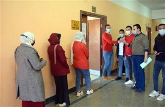 الإعادة في ١٠ كليات بالجولة الأولى لانتخابات اتحاد الطلاب بجامعة سوهاج | صور