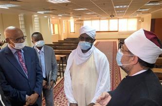 وزير الأوقاف يصطحب نظيره السوداني في جولة بأكاديمية تدريب الأئمة والواعظات | صور