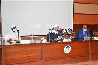 وزير الأوقاف السوداني: نشكر الشعب المصري على وقوفه الدائم معنا | صور