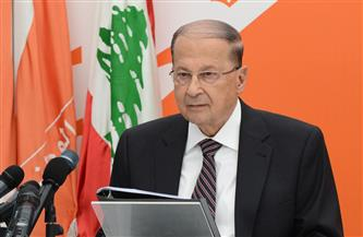 الرئيس اللبناني يطالب بتطبيق القانون على المتظاهرين المشاركين في عمليات التخريب