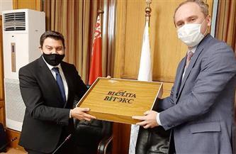 غرفة الأثاث تستقبل سفير بيلاروسيا لبحث استيراد الأخشاب وتصدير الأثاث المصري | صور