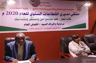 مفوض نزع السلاح في السودان: المفوضية من آليات تنفيذ اتفاقية السلام