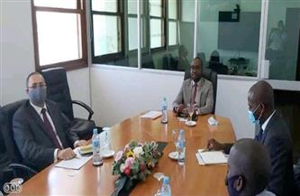 سفير مصر في مابوتو يلتقي وزير النقل والاتصالات الموزمبيقي لبحث فرص التعاون بين البلدين