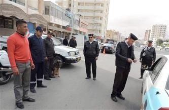 ضبط  400 مخالفة مرورية في الحملة اليومية على الطرق بسوهاج