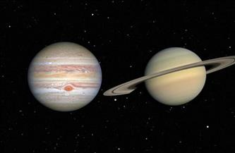 «البحوث الفلكية»: ظاهرة الاقتران العظيم يمكن رؤيتها بالعين المجردة | فيديو