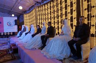 «صناع الخير» تنظم زفافًا جماعيًا لـ 24 عريسًا وعروسة من ذوي الإعاقة بسوهاج صور