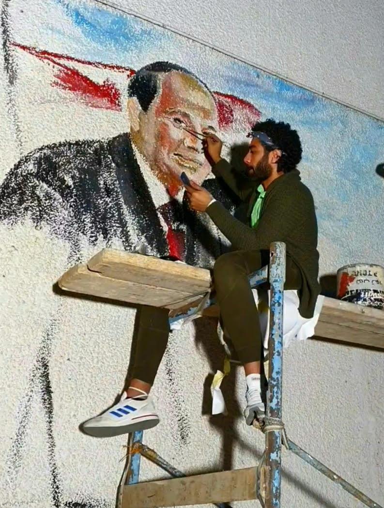 جداريات لتزين شوارع وميادين شرم الشيخ