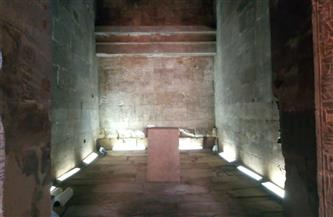 السياحة والآثار تنتهي من أعمال ترميم وتطوير معبد إيزيس بأسوان |صور