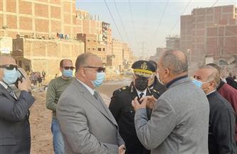 محافظ القاهرة: تسكين 993 أسرة وإزالة 473 منزلا بالهجانة لإنشاء محور الوفاء والأمل   صور