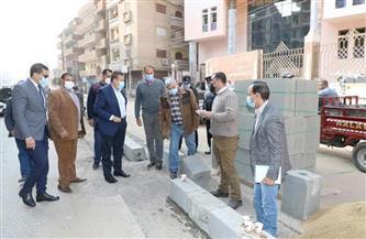 خلال جولته بشبين الكوم.. محافـظ المنوفية يتفقد أعمال تطوير شارع سعد زغلول | صور