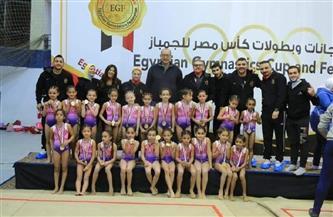 إنجاز جديد لناشئات الأهلي للجمباز في بطولة كأس مصر